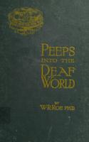 Peeps into the deaf world