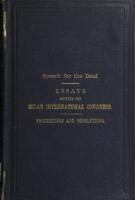 Report of the proceedings of the International Congress on the Education of the Deaf, held at Milan, September 6th-11th, 1880